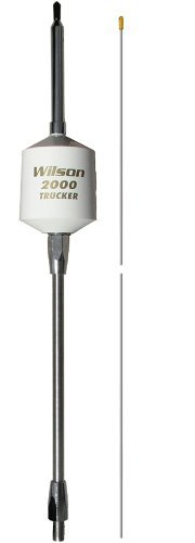 Wilson 305-494 T2000 Series White Mobile CB Trucker Antenna with 5'' Shaft by Wilson Antenna (Image #1)
