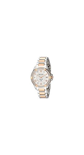 Marine Collection Ladies Star Watch (Bulova Women's Quartz Stainless Steel Casual Watch, Color Two Tone (Model: 98R234))