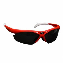 Jett Golf - Vinci Red Multilens Sports Sunglasses for Baseball, Cycling, Running and Many More!