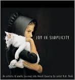 img - for Joy In Simplicity : An Artistic & Poetic Journey into Amish Country, featuring Original Art by Nancy Noel book / textbook / text book