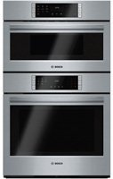 "Bosch - 800 Series 29.7"" Single Electric Convection Wall Ove"