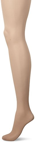 No Nonsense Women's Plus Size Graduated Compression Smart Support Pantyhose, Beige Mist, D