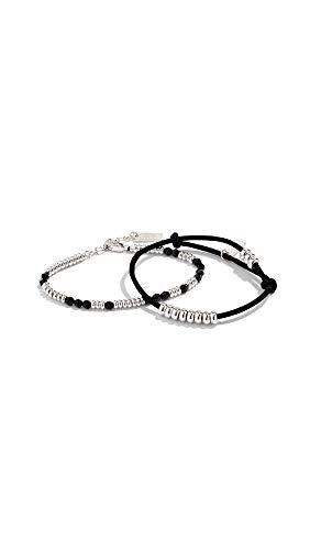Marc Jacobs Women's Redux Grunge Bracelet Set, Black Multi, One Size