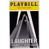 Laughter on the 23rd Floor Playbill; Nathan Lane (Laughter On The 23rd Floor Nathan Lane)