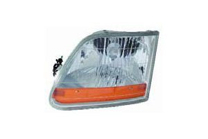 Used, Ford F-150 Pickup 01-04 Headlight Assembly Harley Davidson for sale  Delivered anywhere in Canada