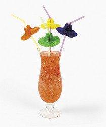 Mexican Straw - OTC 36 Flexible SOMBRERO Straws/FIESTA/Cinco de MAYO Party/MEXICAN HATS/3 Dozen/DECOR