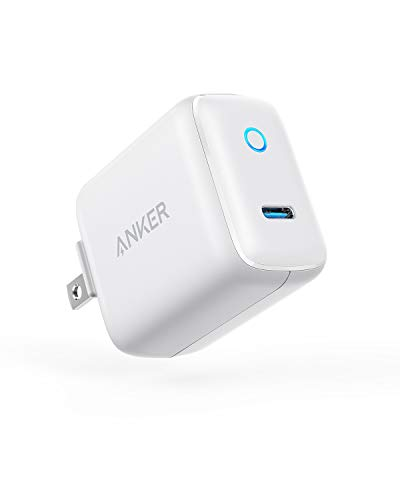 (USB C Wall Charger, Anker 15W/3A PowerPort C 1 Type C Fast Charger, Super Compact with LED Indicator, Foldable Plug for iPhone 8/8+/X/XS/XS Max/XR, iPad Pro, Galaxy S9/S9+/S8/S8+, Pixel, and More)