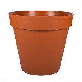 Pot Rond Toscane Xxl Potiron 100x79 5cm 356l Eda