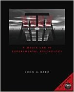 InSight: A Media Lab in Experimental Psychology (with CD-ROM)