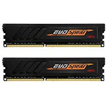 - GeIL EVO Spear AMD Edition 16GB (2 x 8GB) 288-Pin DDR4 SDRAM DDR4 2666 (PC4 21330) Desktop Memory Model GASB416GB2666C19DC