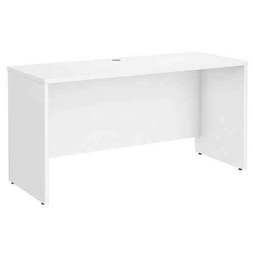 Bush Business Furniture Studio C 60W x 24D Credenza Desk in White ()