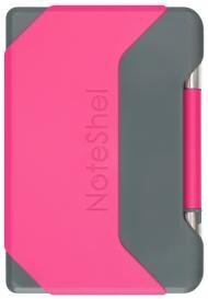NoteShel Portable sticky note holder with pen (Fuchsia Pink) by NoteShel