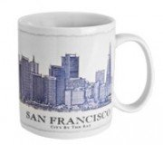2012 Starbucks San Francisco City By the Bay Architecture Series 18 Oz Coffee Mug