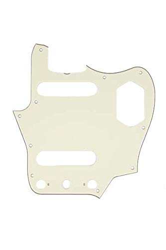 - Fender Pure Vintage Pickguard, Jaguar, 10-Hole - Mint Green