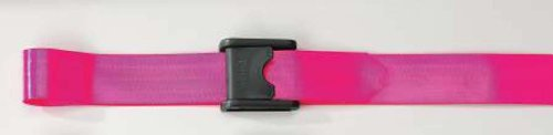 """Posey Posey Premium Ez Clean Gait Belt With Spring Loaded Buckle 60""""Lx2""""Hd Pink - Model 6546p"""