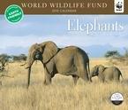 Elephants WWF 2010 Deluxe Wall Calendar