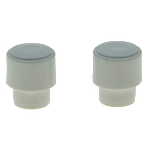 KAISH Pack of 2 Barrel Switch Tip 3 Way or 4 Way Pickup Selector Switch Knobs for U.S. Tele/Telecaster White