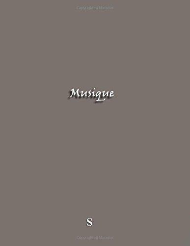 Musique: Cahier de musique A4 avec 9 portees/page (100 pages) (French Edition)