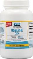 Vitacost Ubiquinol CoQH Featuring Kaneka QH -- 50 mg - 120 Softgels