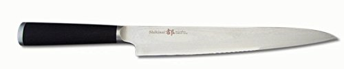 (Miyako Japanese 33 Layers Damascus Steel Yanagiba Knife, 9.25-In, With Wooden Handle: Chefs' Best And Favourite Knife)