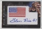 Glen Rice #59/99 (Basketball Card) 2010-11 Elite Black Box - Flag Patches Autographs - [Autographed] #95 (Elite Basketball Card Box)