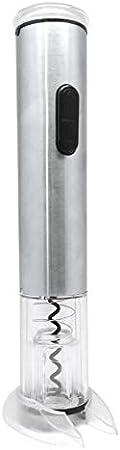 Vinbouquet Vin Bouquet FID 469 Sacacorchos eléctrico, descorchador inalambrico, Acero manganésico, 27 x 4.6 x 4.6 cm, 2