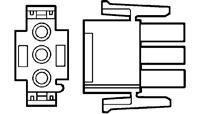 Pin Socket Connectors Plug House 2 Pos