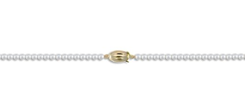 Eau - Collier Femme - Perle de culture 4-4,5 mm Or 9 carats fermoir 55,9 cm