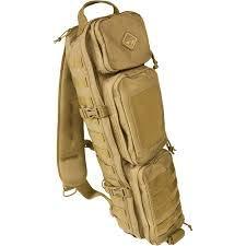 HAZARD 4 EVC-TKD-CYT_Coyote_70 x 15 x 15 cm, 15.8 Liter Evac TakeDown Carbine Sling Pack, Coyote