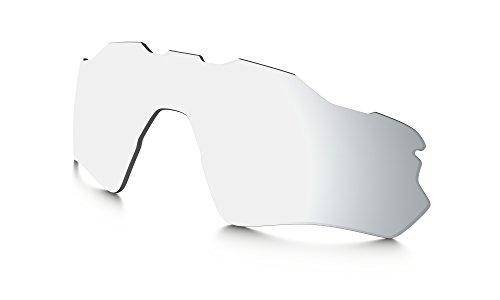 Oakley Radar EV Path Replacement Lens Chrome Iridium Polarized, One - Iridium Polarized Lenses Chrome Oakley
