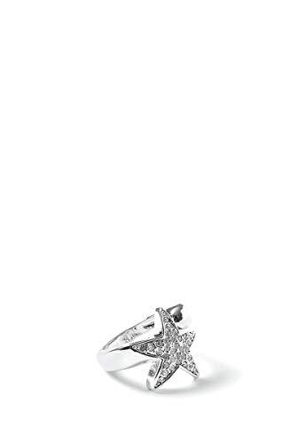 Eclipse Luxury Jewelry Anillo Estrella Plata Joyeria para Mujer