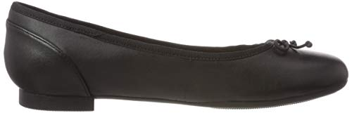 Nero Donna Bloom Couture black Ballerine Clarks Leather wF47T7