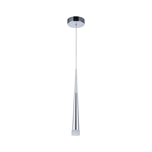Modern Pendant Light, STARRYOL 7W LED Decoration Hanging Ceiling Light with Cone Style, Perfect for Living Room, Restaurant, Bedroom, Café etc (Cone Light Fixture)