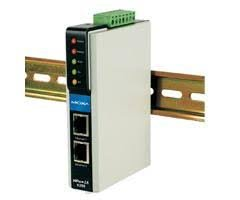MOXA NPort IA-5250 - 2 Ports RS-232/422/485 Serial IA Device Server, 10/100 Ethernet (RJ45) by Moxa