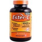 American Health Ester-C 1 000 mg with Citrus Bioflavonoids 90 capsules - 3PC by American Health