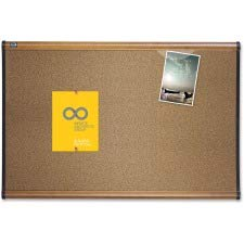 Quartet B244MA Cork Bulletin Board, 4'x3', Maple ()