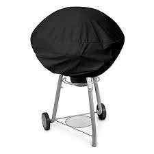 "BBQ Grill Cover w/ drawstring fits Weber Jumbo Joe Gold 18"" tabletop model:New"