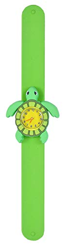 Wild Republic Sea Turtle, Slap Bracelets for Kids, Toy Watch, Educational Toys, 9 inches (Slap Watch)