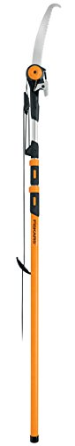 Fiskars Chain Drive Extendable Pole Saw & Pruner (7-16 Foot)