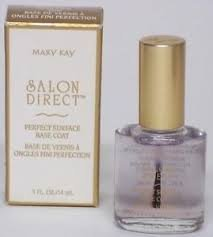 Mary Kay Salon Direct Nail #3206 PERFECT SURFACE Base Coat Women .5 oz New
