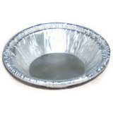 HFA 30535 Aluminum Pie Pan Dimensions: 9 5/8-Inch Top out, 8 ¾-Inch Top in, 7-Inch Bottom (Case of 200)