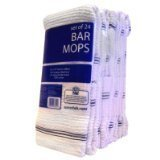 Daily Chef Bar Mops,16 x 19 (24ct.) by Daily Chef