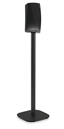 Vogel's Speaker Mount for Denon HEOS -  SOUND series, 5313B Floor Stand for HEOS 1 & 3, Black (single stand) by Vogel's