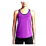 Antigua Red Classic Shirt (Nike Women's Dri-Fit Training Top 686107, Cosmic Purple Heather/Cosmic Purple, XL)