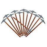 Pencils with Mountain Climber Pickaxe Topper (12 Pack)