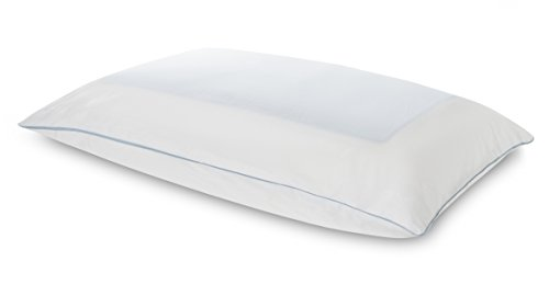 Tempur-Pedic TEMPUR-Cloud Breeze Dual Queen Size Pillow, Soft Support, Sleep Cool Washable Cover, Assembled in The USA, 5 YR Warranty ()