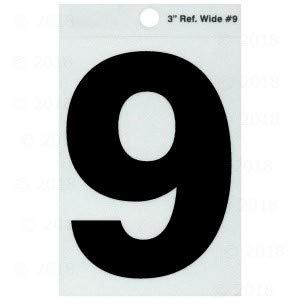 3 Number Reflective Inch (3