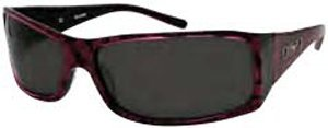 "DSO Eyewear ""HAVOC"" Pink/Black Patern - Smoke Polarized Lens"