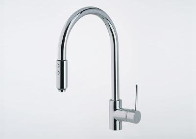 rohl ls57l stn rohl kitchen faucets modern architectural side lever pull satin - Rohl Kitchen Faucets