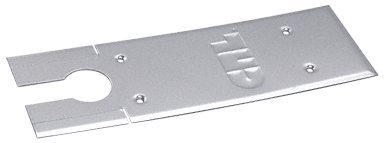 C.R. LAURENCE CRL85CPPS CRL Polished Stainless Cover Plates for 8500 Series Floor Mounted Closer